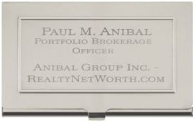 Anibal-Affiliates-RealtyNetWorth-Marketing-Business-Card-Holder